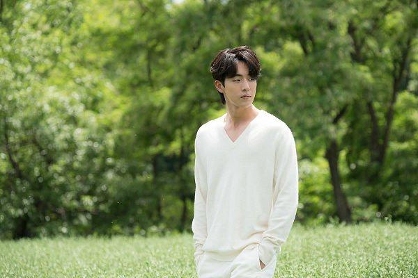 Tags: K-Drama, Nam Joo-hyuk, Plant, Tree, Hand In Pocket, Grass, Bride Of The Water God