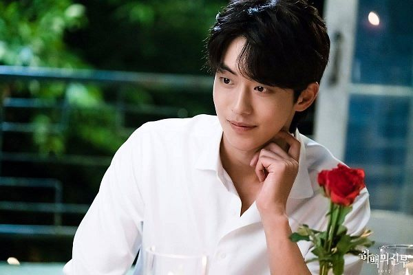 Tags: K-Drama, Nam Joo-hyuk, Red Flower, Rose (flower), Flower, Bride Of The Water God