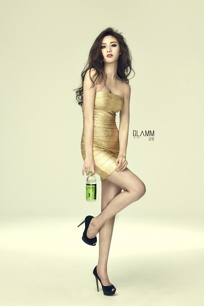 Tags: K-Pop, After School, Nana, Suggestive, Leg Up, Bottle, No Background, Cleavage, Water, High Heels, Android/iPhone Wallpaper