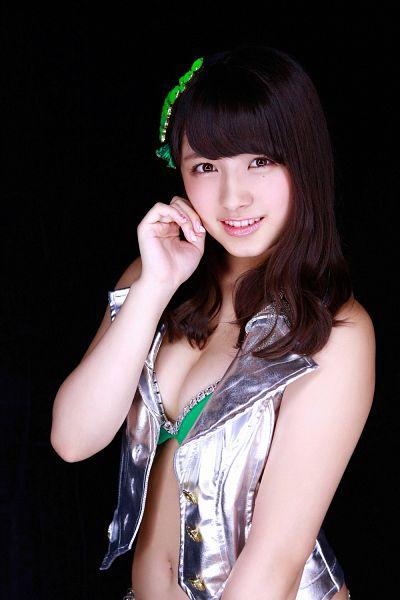 Tags: J-Pop, AKB48, Nana Owada, No Background, Cleavage, Bikini, Suggestive, Magazine Scan, Scan, Android/iPhone Wallpaper