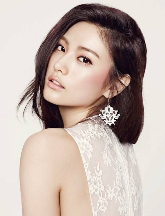 Tags: K-Pop, After School, Nana, White Outfit, White Dress, Esquire Magazine