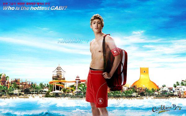 Tags: K-Pop, 2PM, Nichkhun, Shirtless (Male), HD Wallpaper, Wallpaper, Caribbean Bay