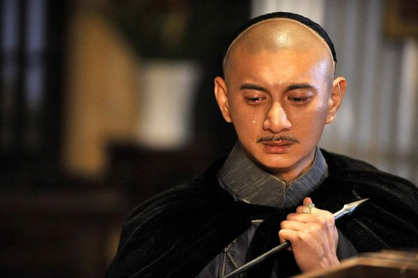 Tags: C-Drama, Nicky Wu, Weapons, Ring, Mustache, Crying, Arrow, Partially Bald, Archery, Cape, Scarlet Heart