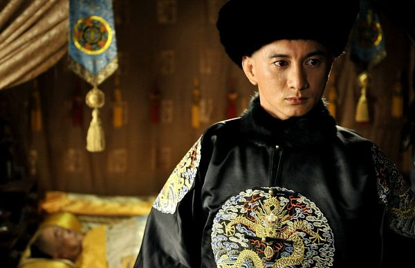 Tags: C-Drama, Nicky Wu, Chinese Clothes, Traditional Clothes, Crying, Hat, Looking Ahead, Scarlet Heart