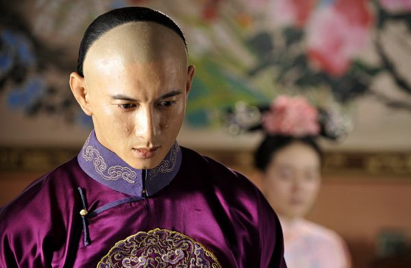 Tags: C-Drama, Nicky Wu, Partially Bald, Chinese Clothes, Traditional Clothes, Crying, Scarlet Heart