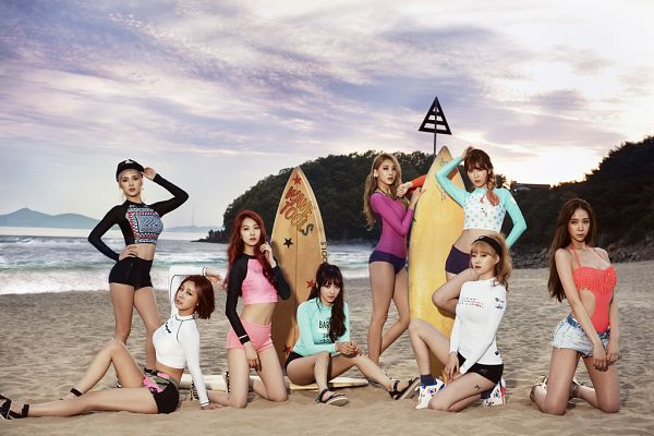 Tags: K-Pop, Nine Muses, Hurt Locker, Moon Hyuna, Lee Keumjo, Park Minha, Jo Sojin, Pyo Hyemi, Son Sungah, Euaerin, Gyeongree, Group