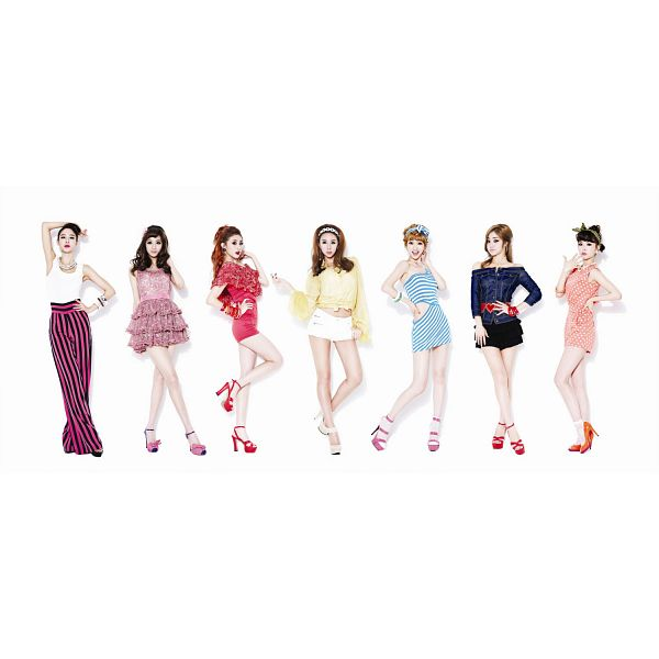 Tags: K-Pop, Nine Muses, Park Minha, Park Eunji, Pyo Hyemi, Leesem, Euaerin, Ryu Sera, Moon Hyuna, Light Background, White Background, Group