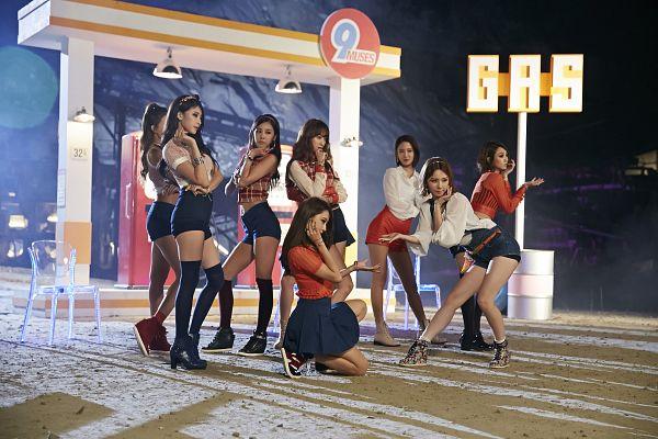Tags: K-Pop, Nine Muses, Park Minha, Leesem, Pyo Hyemi, Ryu Sera, Euaerin, Son Sungah, Gyeongree, Park Eunji, Wallpaper
