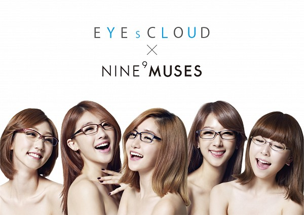 Tags: K-Pop, Nine Muses, Pyo Hyemi, Park Eunji, Ryu Sera, Moon Hyuna, Park Minha, Group, Quintet, Suggestive, Nude, Light Background