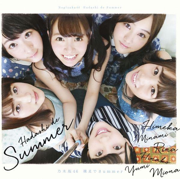 Tags: J-Pop, Nogizaka46, Minami Hoshino, Miona Hori, Yumi Wakatsuki, Ikoma Rina, Text: Album Name, Himeka Nakamoto, Looking Up, Hadashi De Summer (Single), Looking Ahead, Hinako Kitano