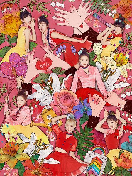 Tags: K-Pop, Oh My Girl, Hyun Seunghee, Yooa, Arin, Mimi, Binnie, Choi Hyojung, Kim Jiho, Balloons, Telescope, Red Outfit