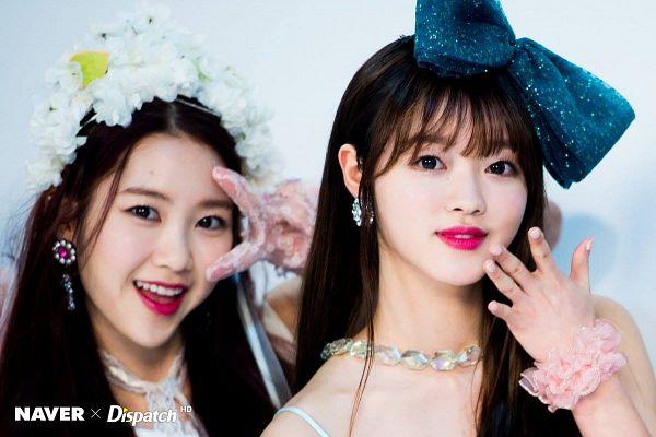 Tags: K-Pop, Oh My Girl, Kim Jiho, Yooa, Duo, Two Girls, Dispatch