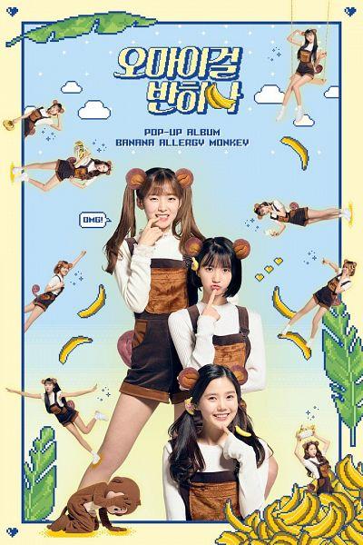 Tags: K-Pop, Oh My Girl, Oh My Girl Banhana, Banana Allergy Monkey, Kim Jiho, Hyun Seunghee, Yooa, Arin, Mimi, Binnie, Choi Hyojung, Fruits