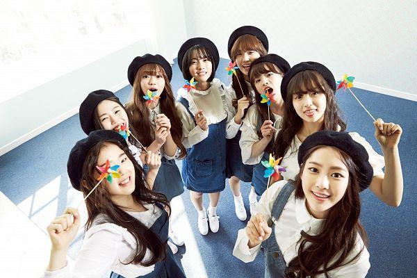 Tags: Oh My Girl, Kim Jiho, Choi Hyojung, Hyun Seunghee, Yooa, Arin, Mimi, Binnie, JinE, Group, Wallpaper