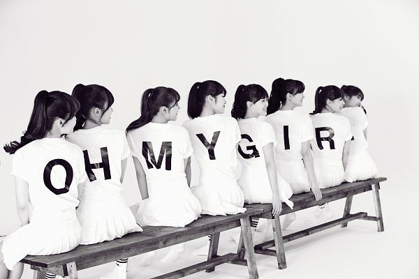Tags: Oh My Girl, Mimi, Binnie, JinE, Kim Jiho, Choi Hyojung, Hyun Seunghee, Yooa, Arin, Group, Wallpaper