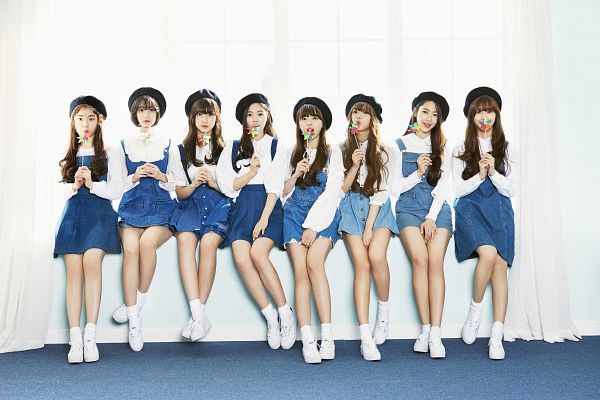 Tags: K-Pop, Oh My Girl, Arin, Mimi, Binnie, JinE, Kim Jiho, Choi Hyojung, Hyun Seunghee, Yooa, Group, Wallpaper