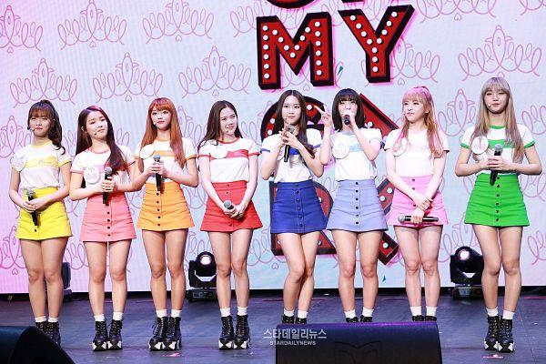 Tags: K-Pop, Oh My Girl, Hyun Seunghee, Yooa, Arin, Mimi, Binnie, JinE, Kim Jiho, Choi Hyojung, Pink Skirt, Skirt