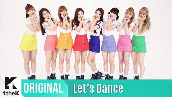 Tags: K-Pop, Oh My Girl, Choi Hyojung, Hyun Seunghee, Yooa, Arin, Mimi, Binnie, JinE, Kim Jiho, Orange Skirt, Skirt