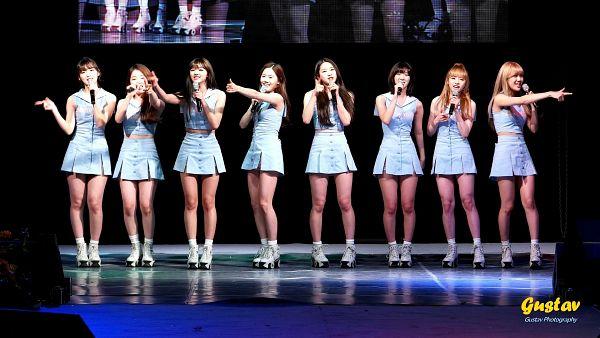 Tags: K-Pop, Oh My Girl, Hyun Seunghee, Yooa, Arin, Mimi, Binnie, JinE, Kim Jiho, Choi Hyojung, Roller Skates, Stage