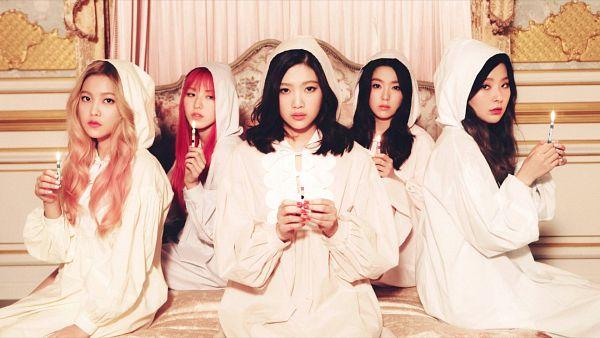 Tags: SM Town, K-Pop, Red Velvet, One Of These Nights, The Velvet, Wallpaper, HD Wallpaper