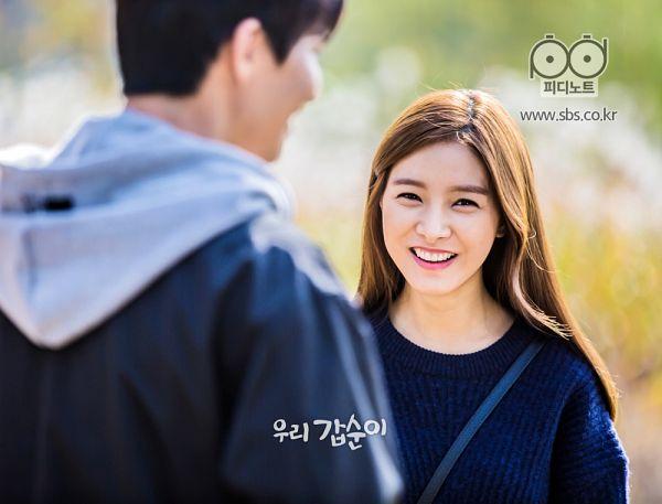 Tags: K-Drama, Kim So-eun, Song Jae-rim, Duo, Blue Shirt, Hoodie, Our Gap-soon