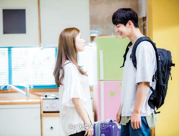 Tags: K-Drama, Kim So-eun, Song Jae-rim, Couple, Bag, Duo, Backpack, Our Gap-soon