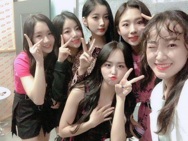 Tags: K-Pop, PURPLE K!SS, Park Jieun, Na Goeun, Yesol, Dosie, Yuki