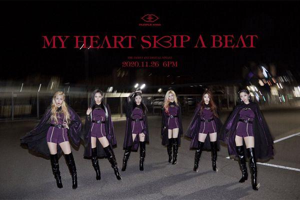 Tags: K-Pop, PURPLE K!SS, My Heart Skips A Beat, Park Jieun, Na Goeun, Yuki, Dosie, Chaein, Ireh