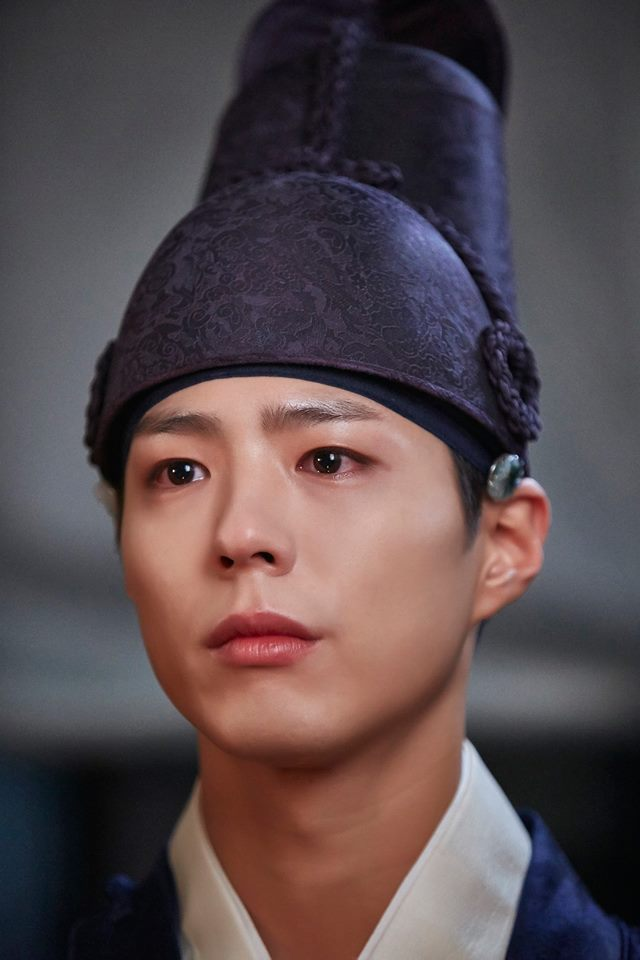 Tags: K-Drama, Park Bo-gum, Crying, Hat, Moonlight Drawn by Clouds