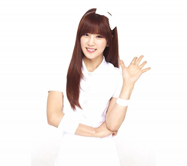 Tags: K-Pop, Apink, Park Cho-rong, Light Background, Bow, Hair Bow, White Background, White Dress, White Outfit, Hair Ornament, Wave, Hairband
