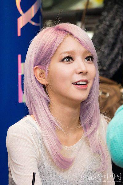 Tags: K-Pop, AOA (Ace Of Angels), Park Choa, Sweater, Purple Hair