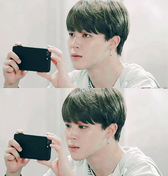 Tags: K-Pop, BTS, Park Jimin, Collage, Black Eyes, Looking at Phone, Phone, Smartphone