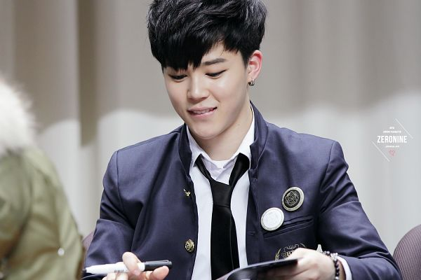 Tags: K-Pop, Bangtan Boys, Park Jimin, Holding Object, Tie, Looking Down, Close Up, Jacket, Earrings, Bracelet, Wallpaper