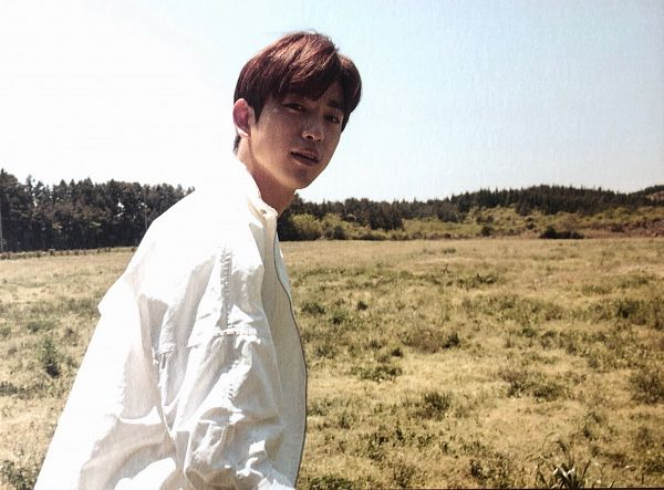 Tags: K-Pop, Got7, Park Jinyoung (Junior), Grass, Serious, Hey Guys