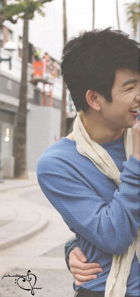 Tags: K-Pop, Got7, Park Jinyoung (Junior), Tree, Sweater, Blue Shirt, Palm Tree, Holding Close, Arm Around Waist, GOTCHA 2 Photobook, Scan