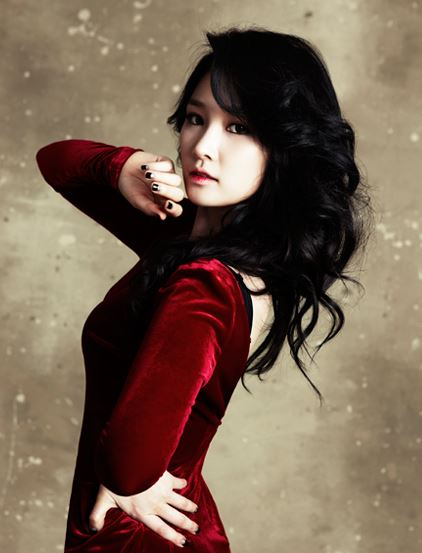 Tags: Spica, Park Narae, Nail Polish, Red Outfit, Make Up, Red Dress