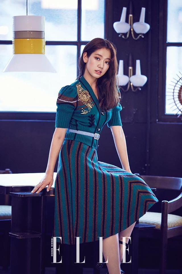 Tags: K-Drama, Park Shin-hye, Text: Magazine Name, Elle Korea