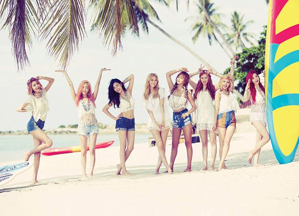 Tags: K-Pop, Girls' Generation, Party (song), Seohyun, Sunny, Im Yoona, Sooyoung, Kim Tae-yeon, Kwon Yuri, Kim Hyo-yeon, Stephanie Young Hwang, Beach