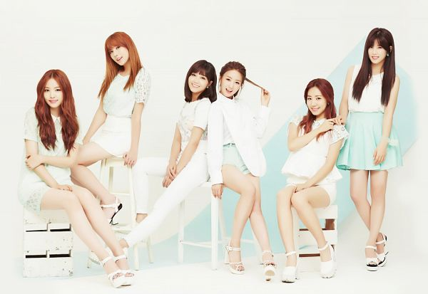 Tags: K-Pop, Apink, Son Na-eun, Yoon Bo-mi, Park Cho-rong, Jung Eun-ji, Kim Nam-joo, Oh Ha-young, Group, Red Hair, Wallpaper, Pink Luv