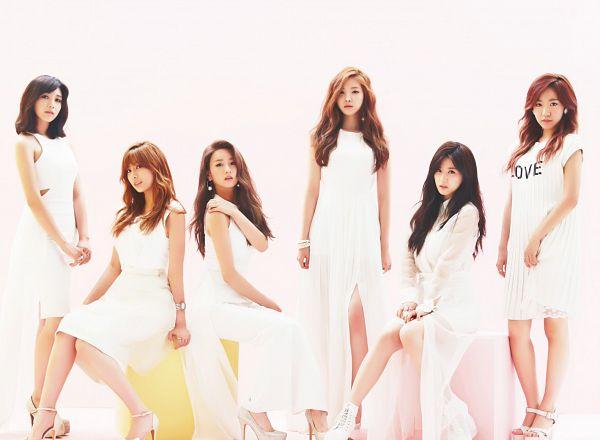 Tags: K-Pop, Apink, Son Na-eun, Yoon Bo-mi, Park Cho-rong, Jung Eun-ji, Kim Nam-joo, Oh Ha-young, Group, Red Hair, Wallpaper, Pink Luv