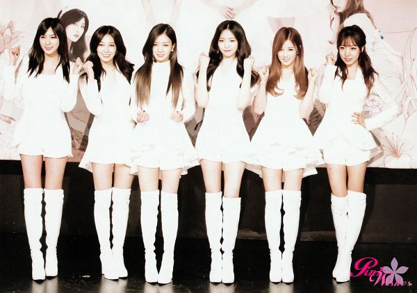 Tags: K-Pop, Apink, Oh Ha-young, Son Na-eun, Yoon Bo-mi, Park Cho-rong, Jung Eun-ji, Kim Nam-joo, White Outfit, White Dress, Full Group, Wallpaper