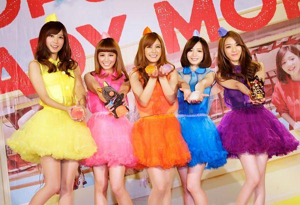 Tags: C-Pop, Popu Lady, More, Bao Er, Dayuan, Hongshi, Liu Yushan, Chen Tingxuan, Orange Dress, Purple Dress, Pink Dress, Blue Outfit