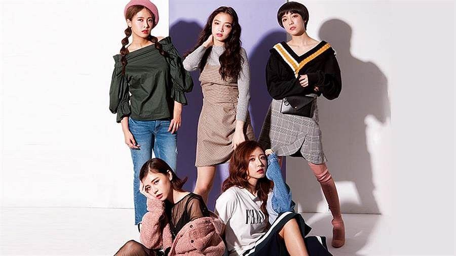 Tags: C-Pop, Popu Lady, Chen Tingxuan, Bao Er, Dayuan, Hongshi, Liu Yushan, Jeans, Quintet, Hat, Shadow, Medium Hair