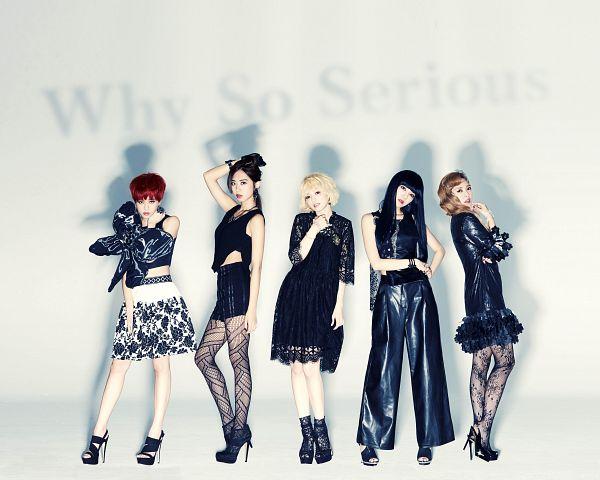 Tags: Television Show, C-Pop, Popu Lady, Chen Tingxuan, Bao Er, Dayuan, Hongshi, Liu Yushan, Black Outfit, Black Dress, Quintet, Group