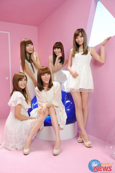 Tags: C-Pop, Popu Lady, Love Bomb, Bao Er, Dayuan, Hongshi, Liu Yushan, Chen Tingxuan, White Dress, Full Group, Group, Five Girls