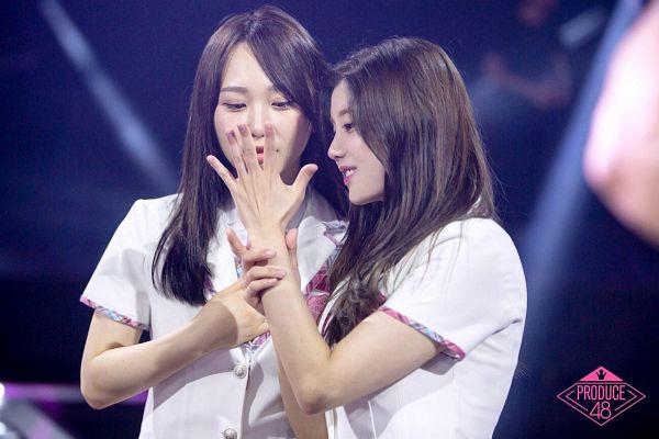 Tags: J-Pop, K-Pop, Television Show, AKB48, IZ*ONE, Kwon Eunbi, Takahashi Juri, Produce 48, Mnet