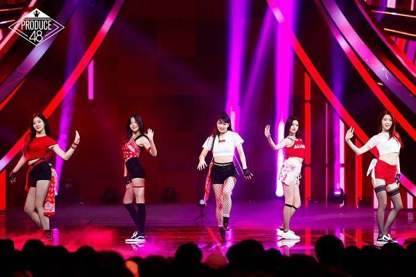 Tags: J-Pop, K-Pop, Television Show, After School, Everglow, IZ*ONE, NMB48, Wang Yiren, Lee Sian, Lee Gaeun, Jang Wonyoung, Shiroma Miru