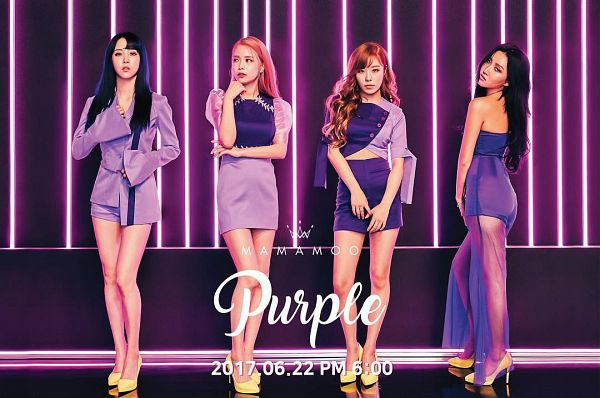 Purple (Album) - Mamamoo