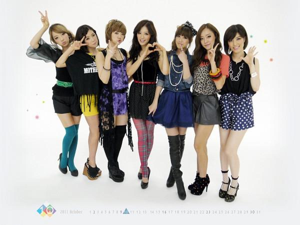 Tags: K-Pop, Rainbow, Noeul, Jung Yoonhye, Go Na Eun, Kim Jaekyung, Kim Jisook, Cho Hyunyoung, Oh Seungah, Wallpaper
