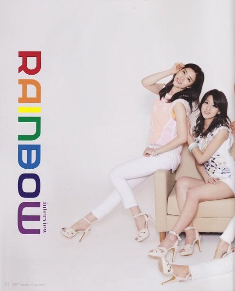 Tags: K-Pop, Rainbow, Oh Seungah, Noeul